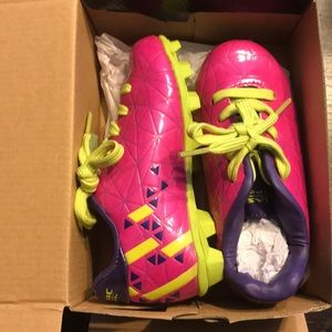 Other - Girls Cleats like New size 12 pink